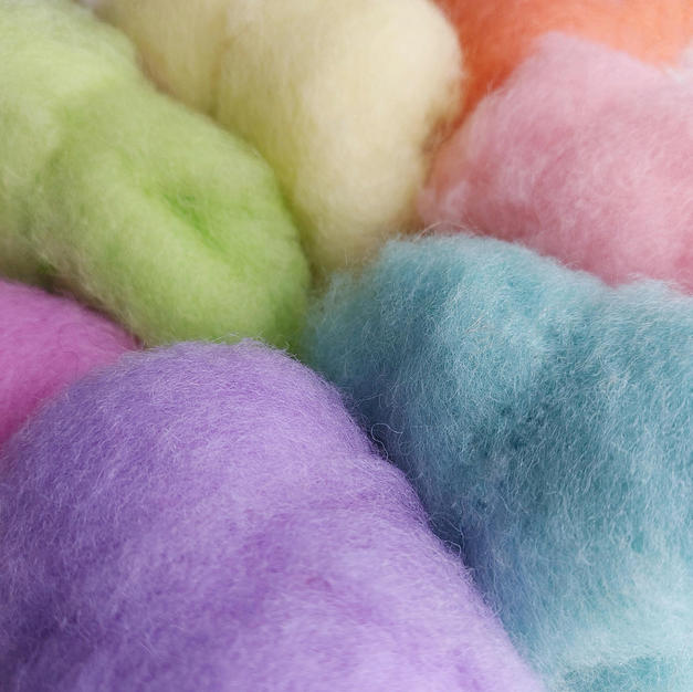 New Zealand carded wool