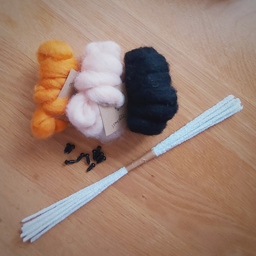 Christmas Bumper pack carded wools - col