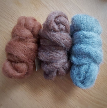 Christmas Bumper pack carded wools - ani