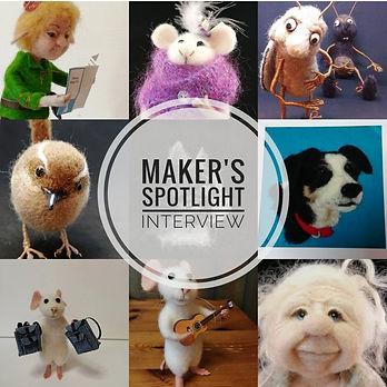 Maker's Spot light interview The Woolly