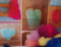 Needle felted hearts instructional downloadnal PDF d