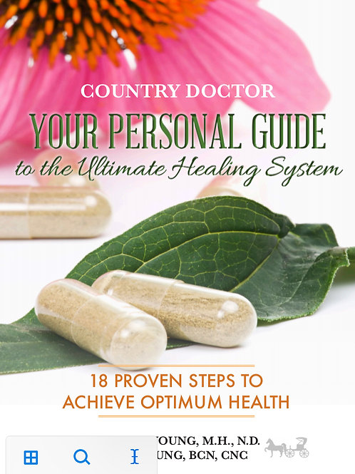"""Book: """"Your Personal Guide to the Ultimate Healing System"""""""