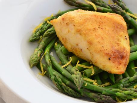 Lemon Pepper Chicken & Asparagus