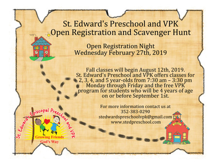 Now Registering for the 2019-2020 School Year!