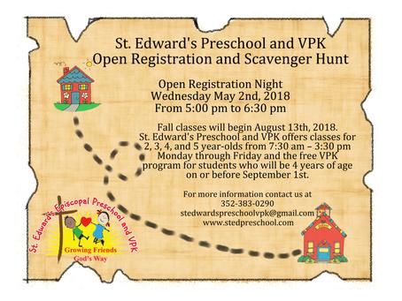 Open Registration Night!