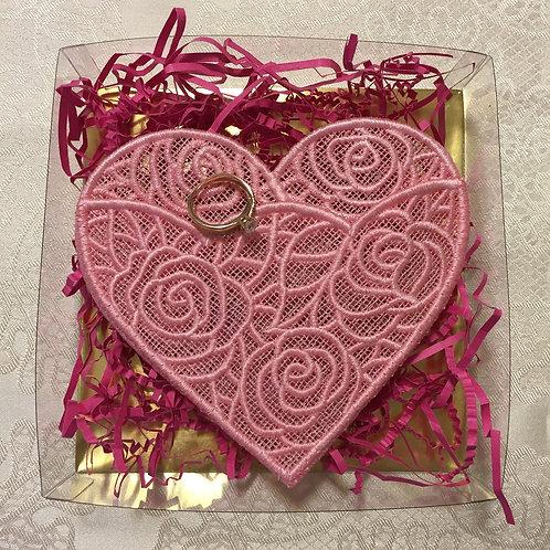 Heart Lace Envelope