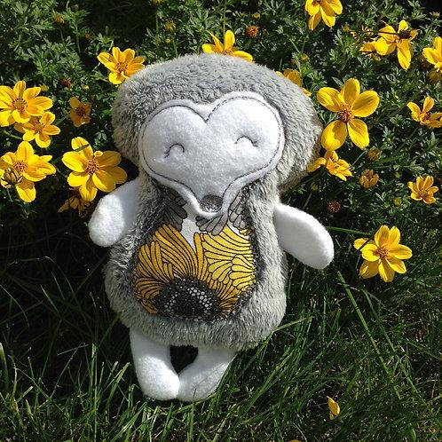 Grey Hedgehog Soft Toy