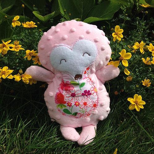 Pink Hedgehog Soft Toy