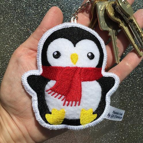 Penguin Stuffie Keychain