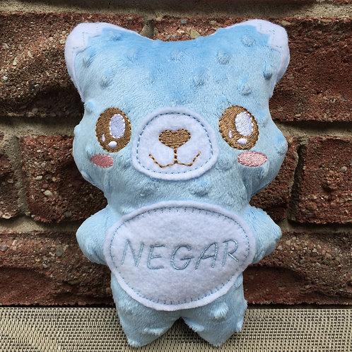 Blue Fox Soft Toy