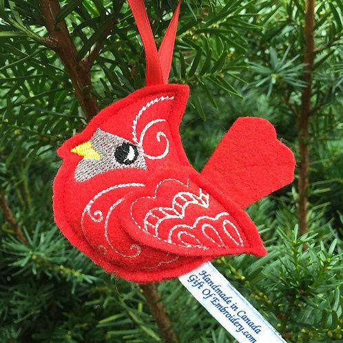 Cardinal Bird Ornament