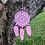 Thumbnail: Pink Lace Dream Catcher