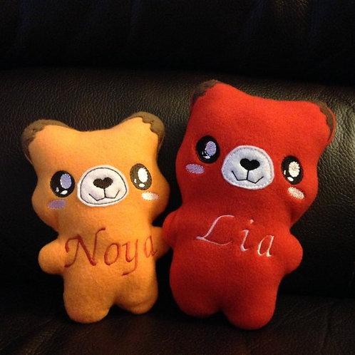 Orange/Red Fox Soft Toy