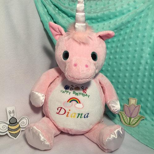 Pink Unicorn Softie