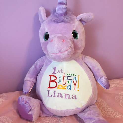 Purple Unicorn Softie