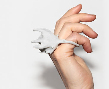 Stefanie verhoef - Muted porcelain hand