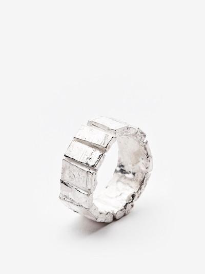 Narrow Polyptych ring