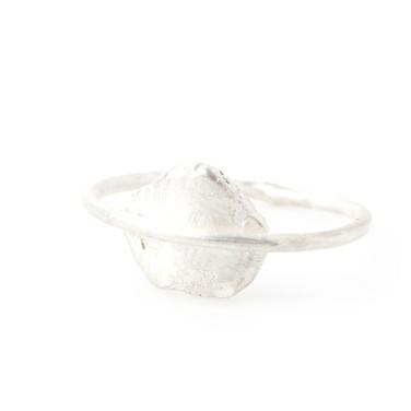 Captured Blemish Ring_silver_zilver_zond