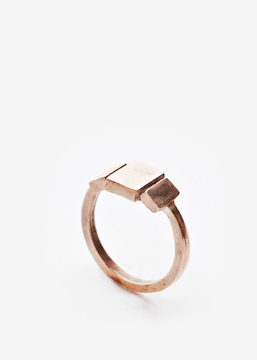 Triptych ring