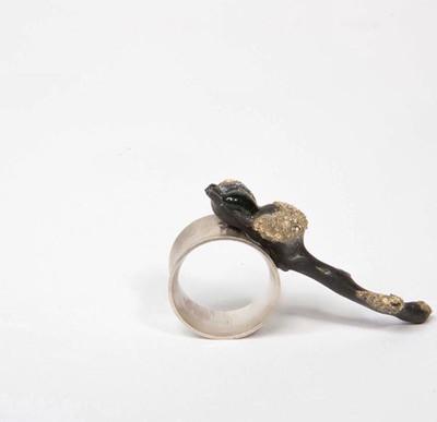 Twig ring, 2014