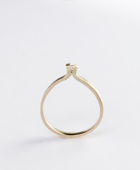 Transfigure ring 14k gold