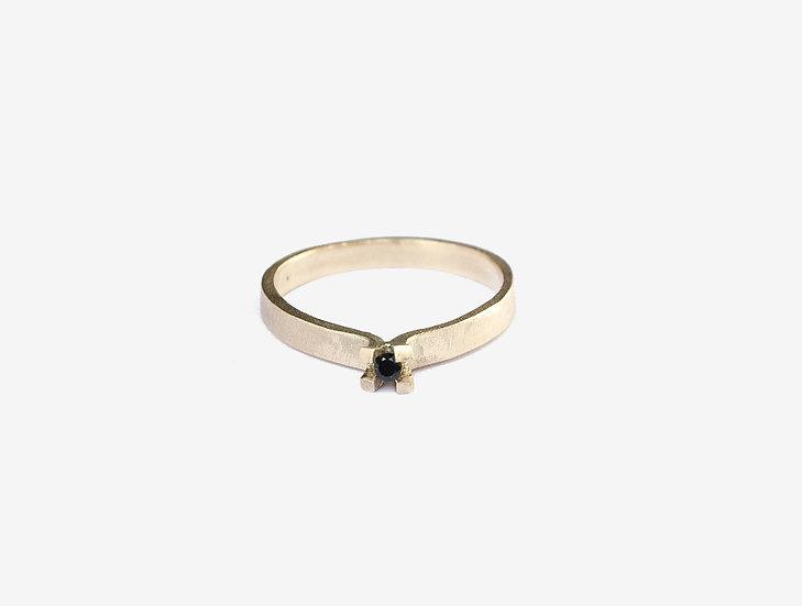 Transfigure ring 14k gold