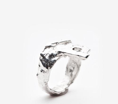 Fluid silver No.1 (sold)