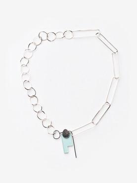 Mixed Feelings, Yin Yang necklace, 2019