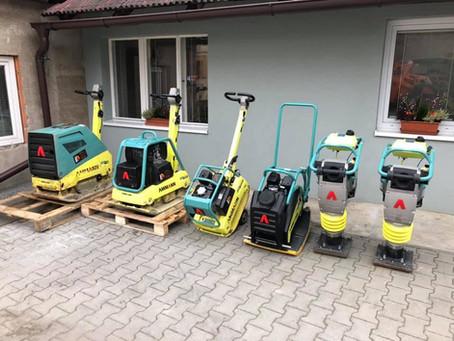 Stroje Ammann v dobrých rukách. Firmu JH Stavební stroje žene dopředu konkurence