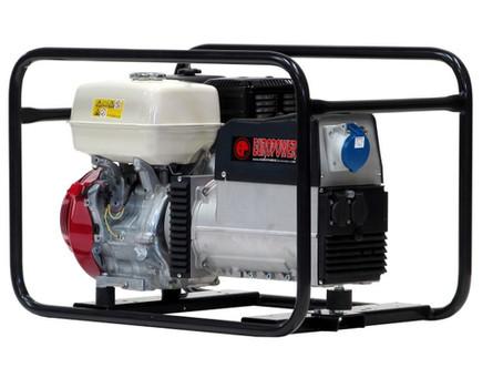 Kopie Elektrocentrála EP 6500T, motor Honda