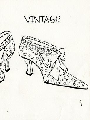 Vitage Shoe
