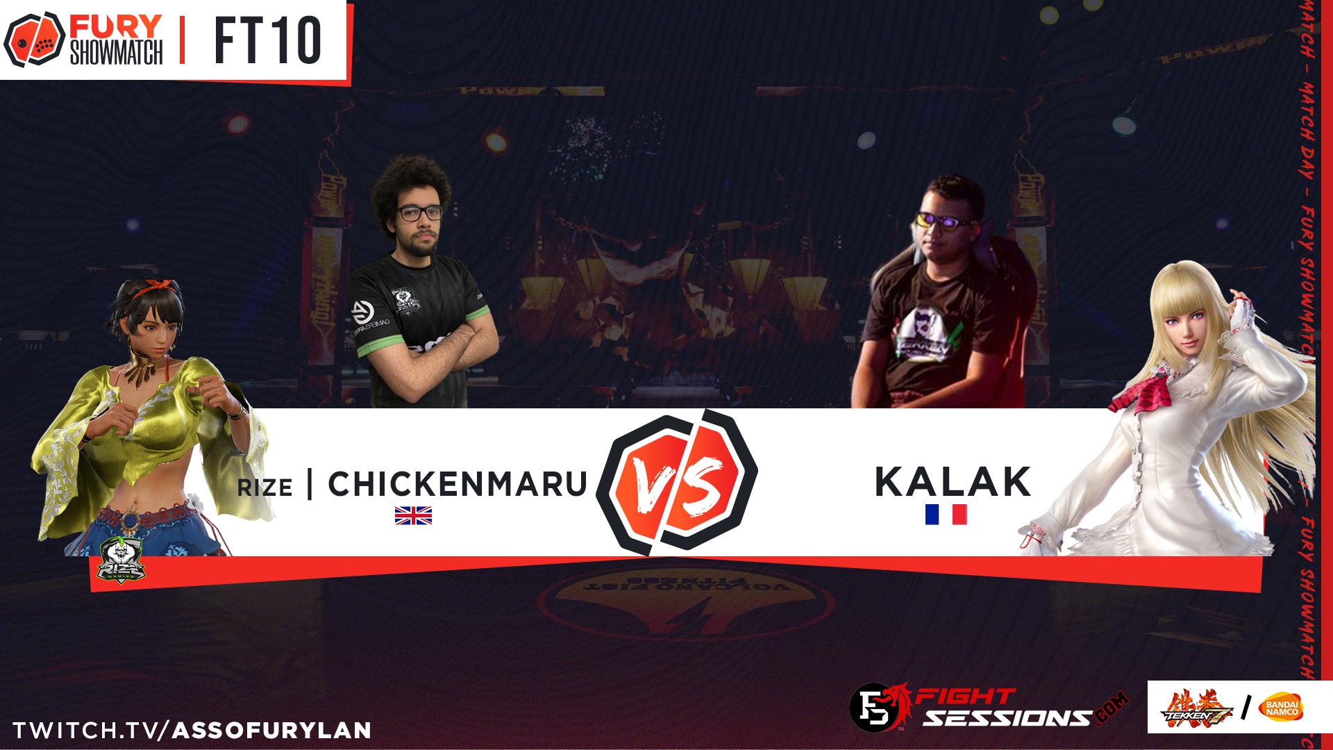 FT10 - Chickenmaru vs kalak