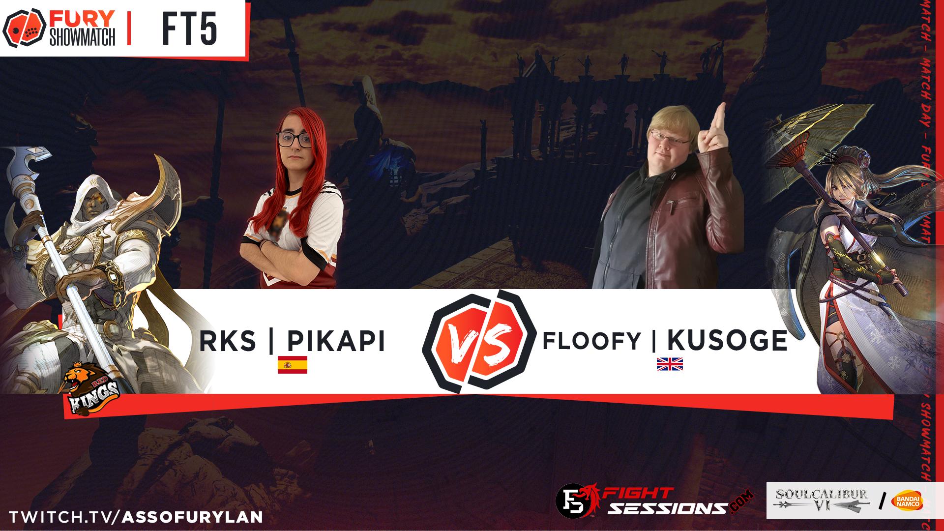 FT5 - pikapi vs kusogue