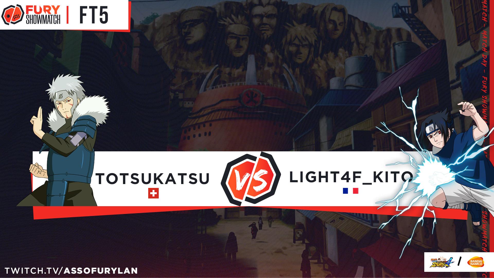 TOTSUKATSU vs KITO