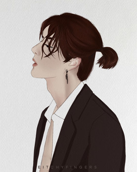 A fan art I did based on Wang Yibo