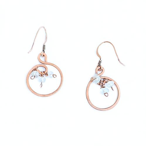 Aquamarine Ocean Earrings
