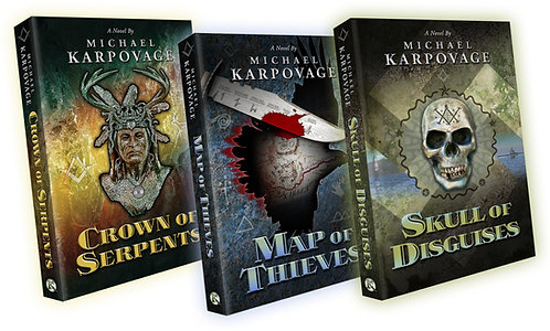 Order all 3 books, save $3 off each book