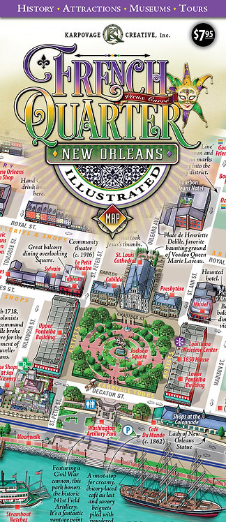 French Quarter Map (Folded)