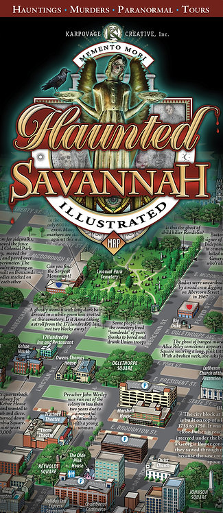 Haunted Savannah (Folded)