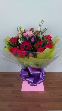 Cerise Pink Hand Tied
