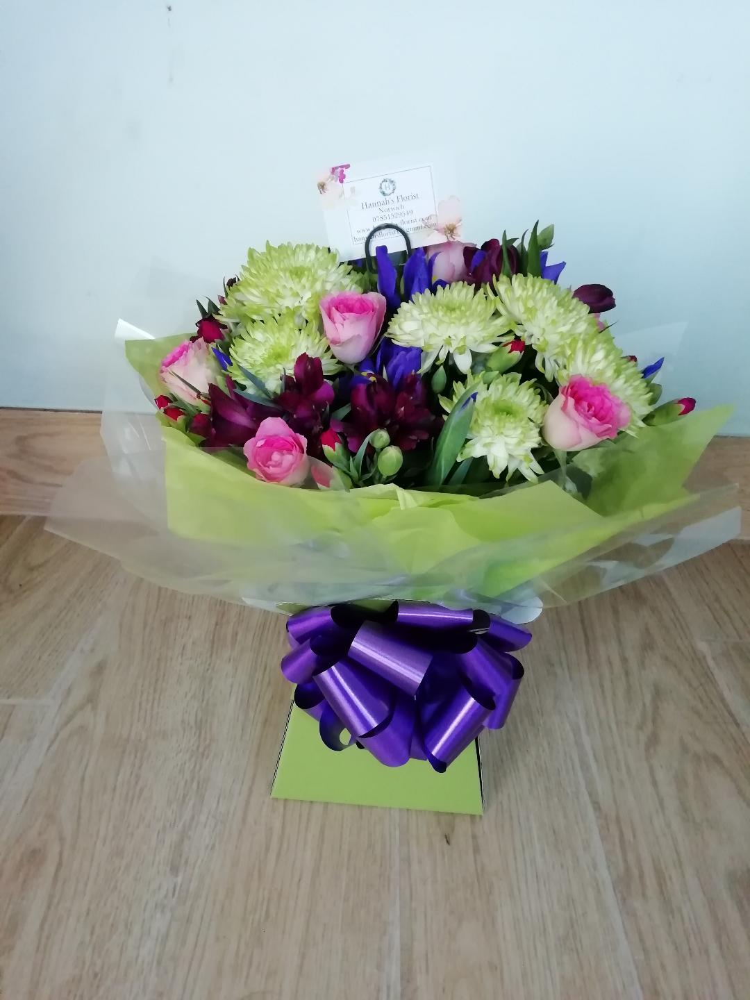 Crazy bright hand tied 14