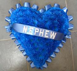 """Blue Heart """"15"""""""