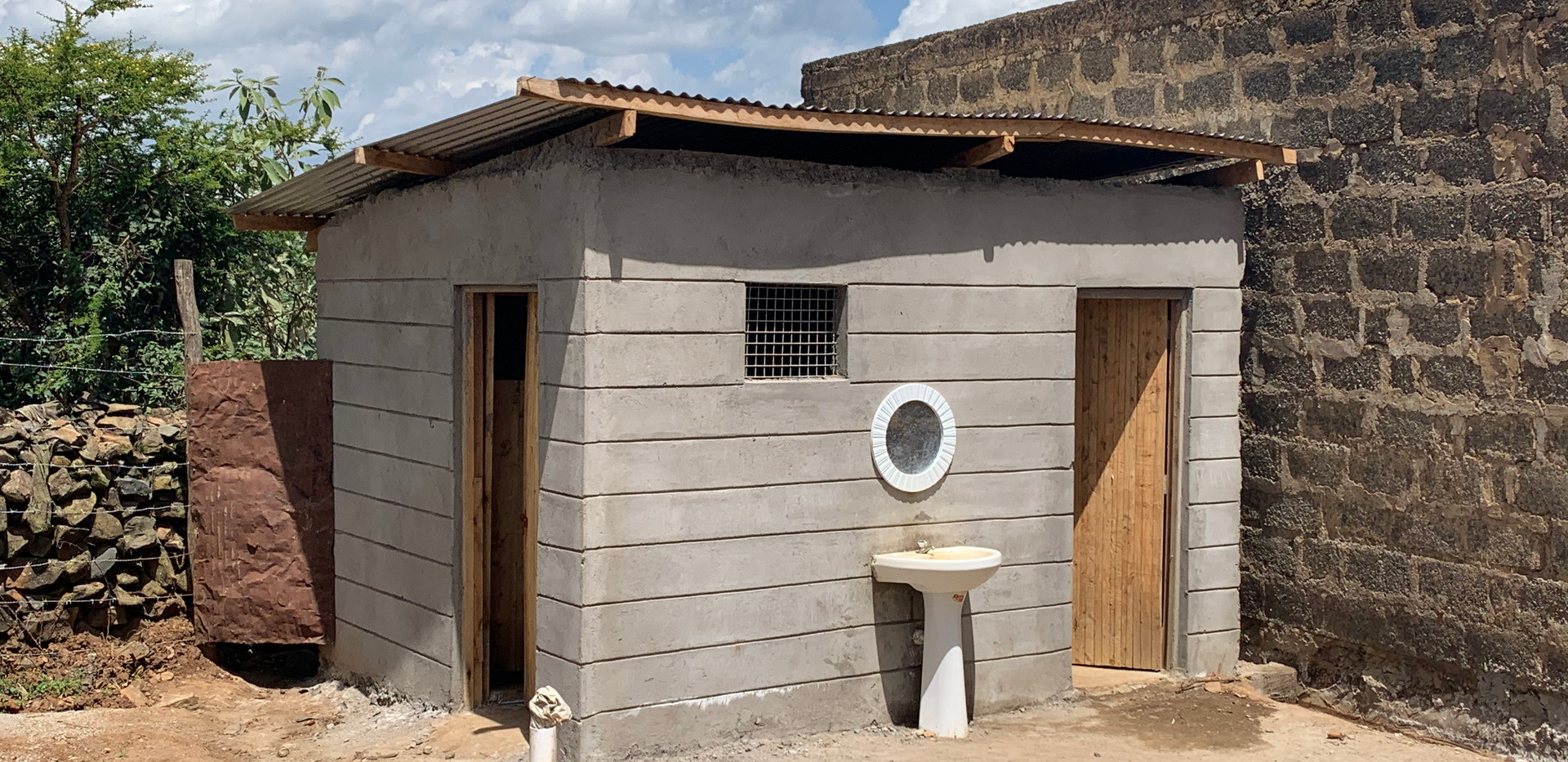 The new bathhouse