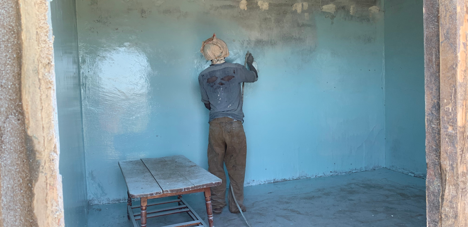Painting the rooms