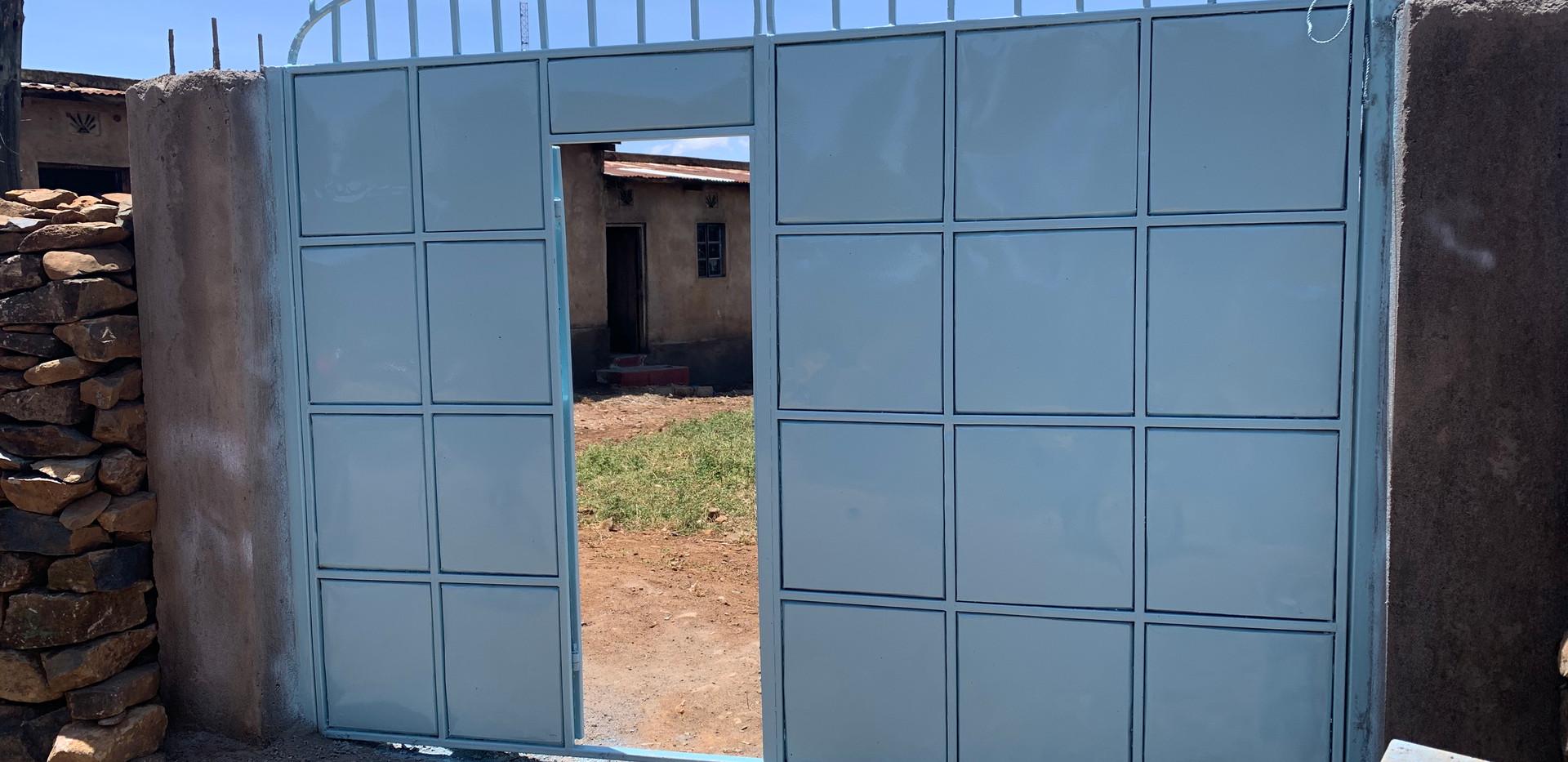 New entrance gate