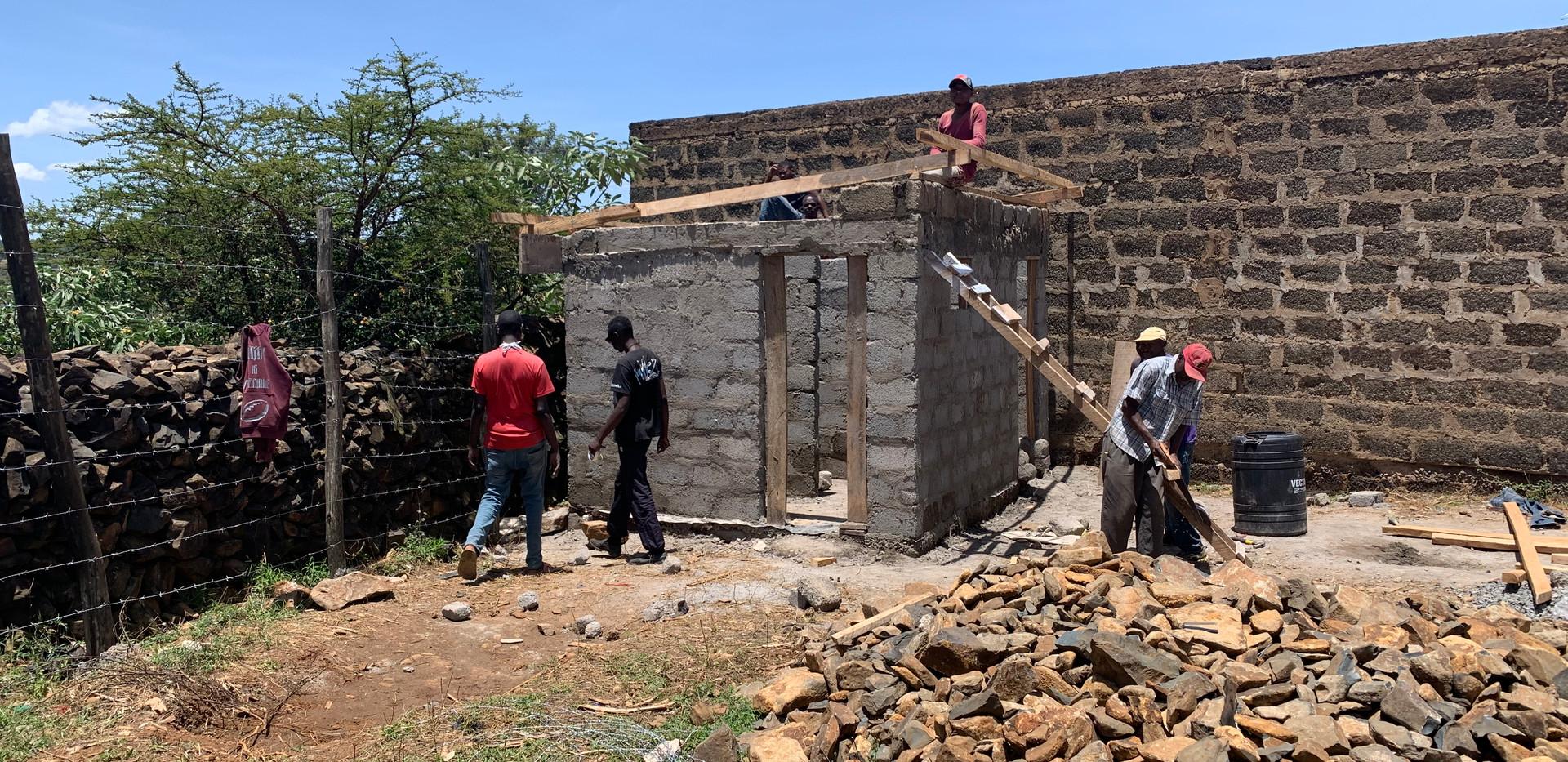 Building a new bathhouse