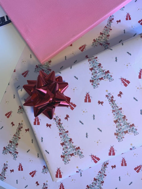 ALL THE WRAPPING - 12 sheets ( 3 x 4 designs)