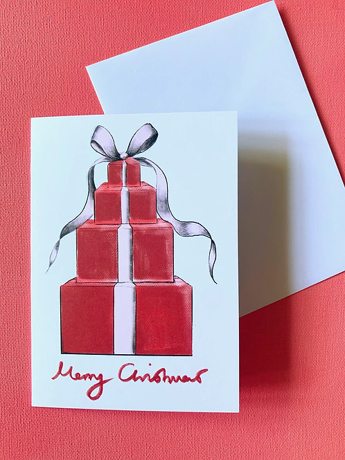 Christmas Gift pack of 10 cards