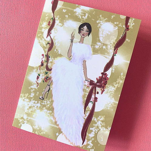 Christmas Fairy pack of 10 cards