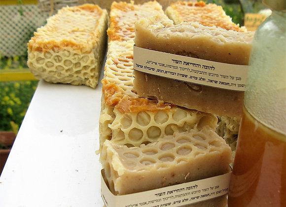 סבון חלב ודבש